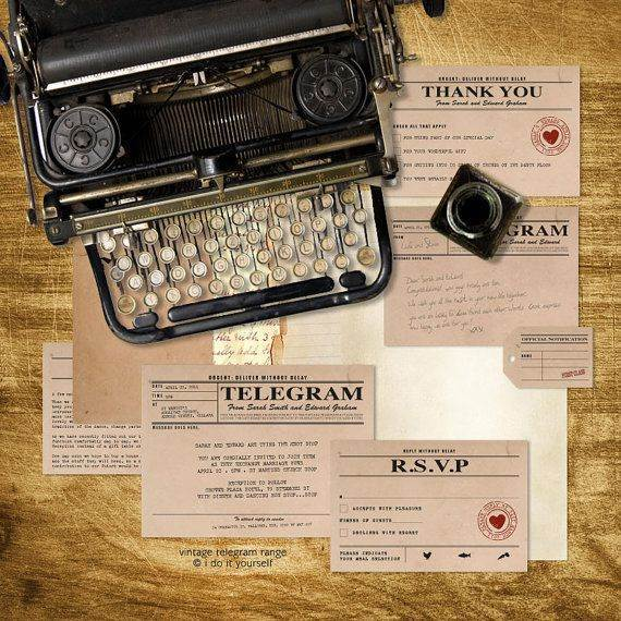 The History of Reading Telegrams To Announce Your Wedding Day