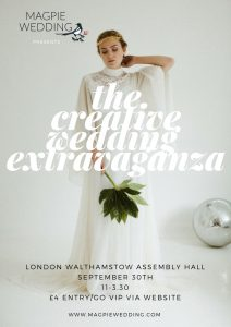 LONDON Walthamstow Magpie Wedding Poster