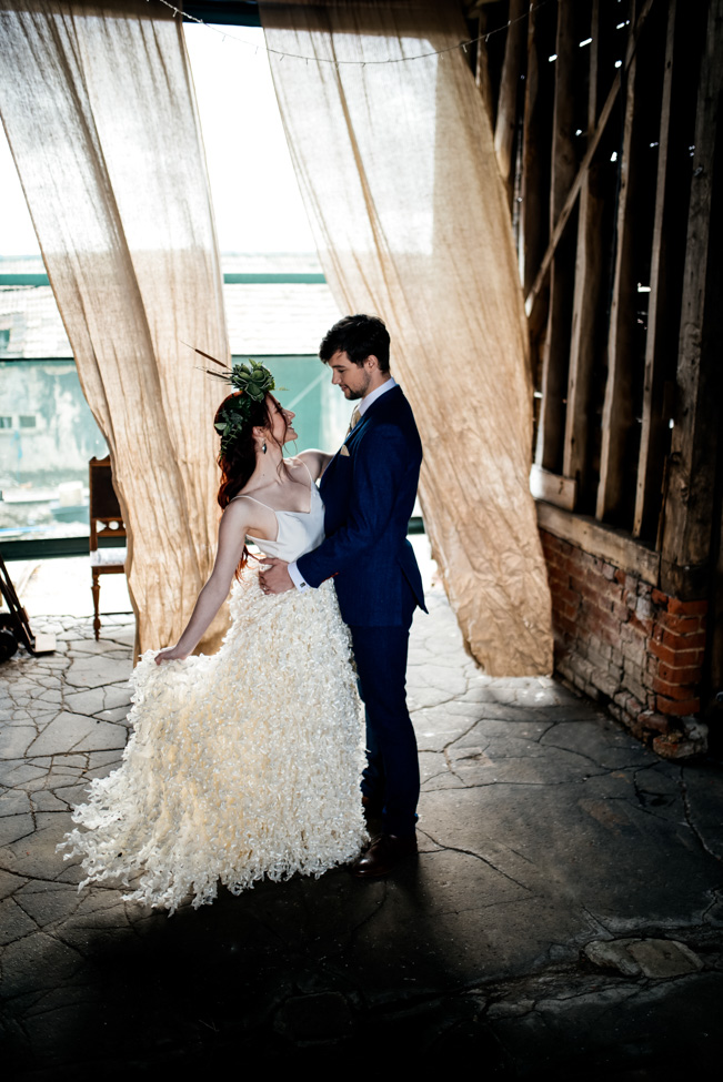 Alternative Wedding Styling With Urban Cool Vibes At Lodge