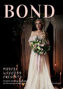 BOND Bride Mag cover