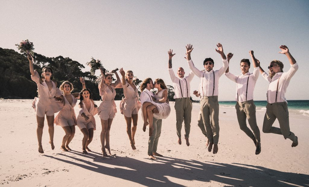 Coachella Inspired Festival Themed Destination Wedding At The Beach