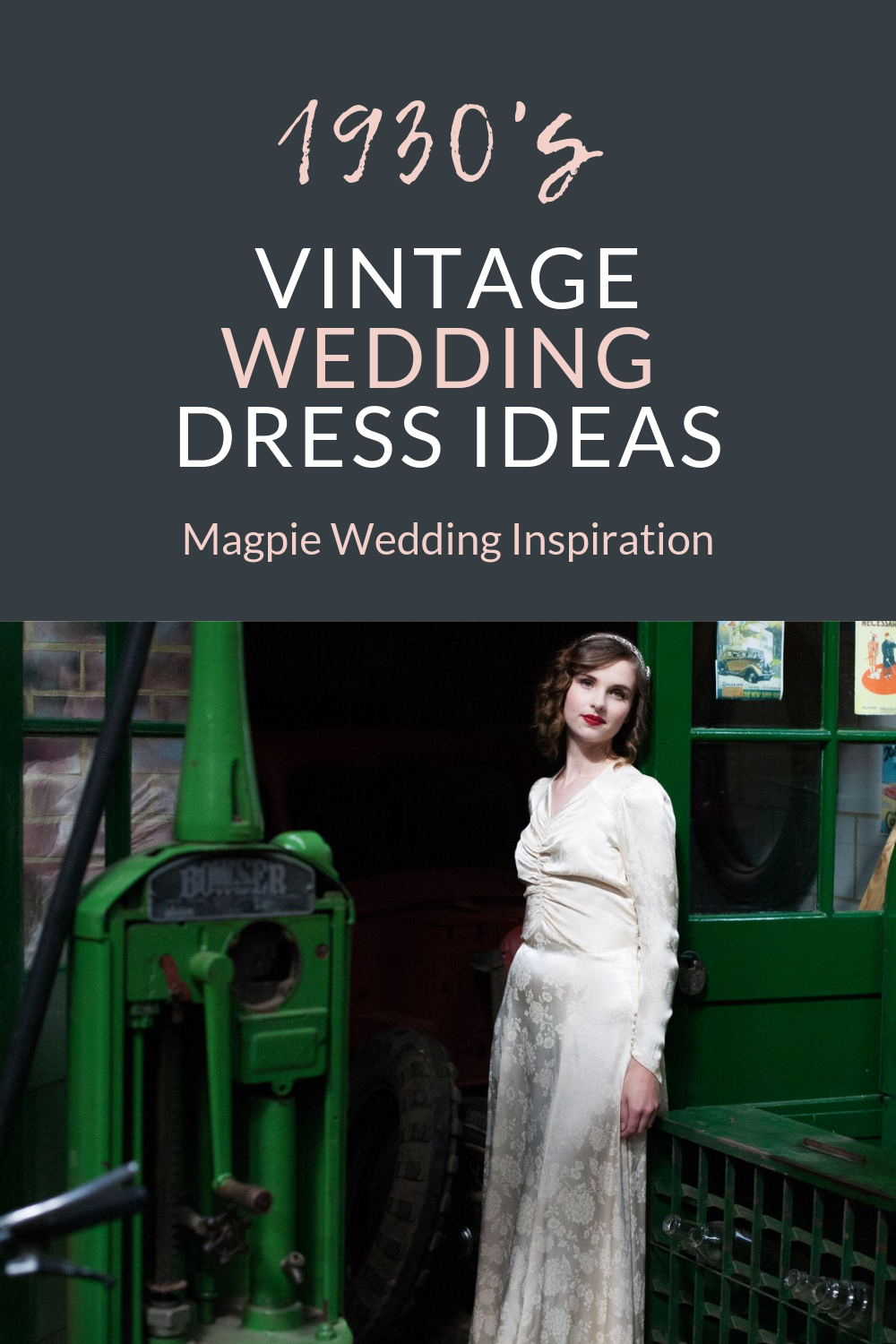 1930's Wedding Inspiration with Vintage Dresses and Feather Capes