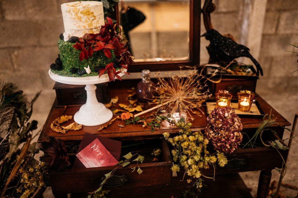 Autumnal Wedding Day Styling