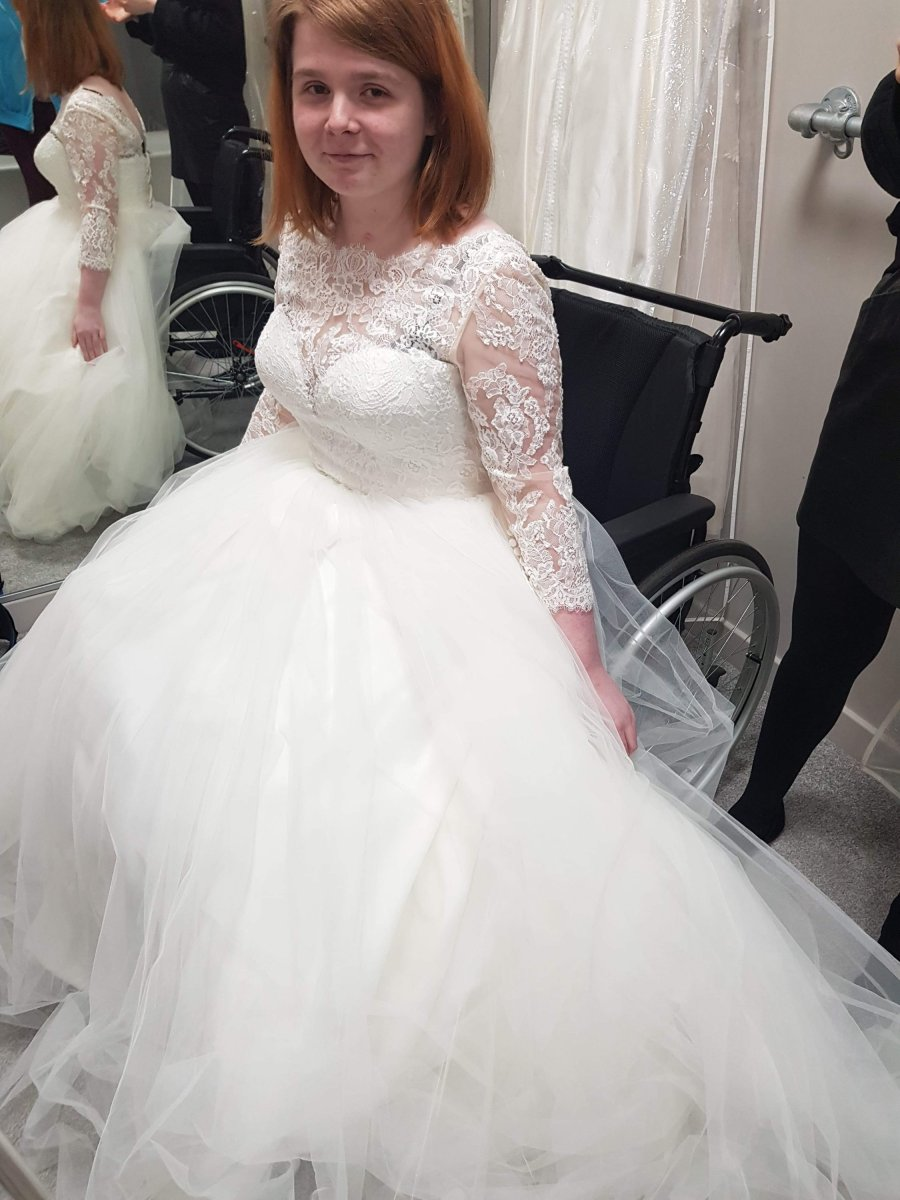 Wedding dress shopping with a disability - what boutiques need to know