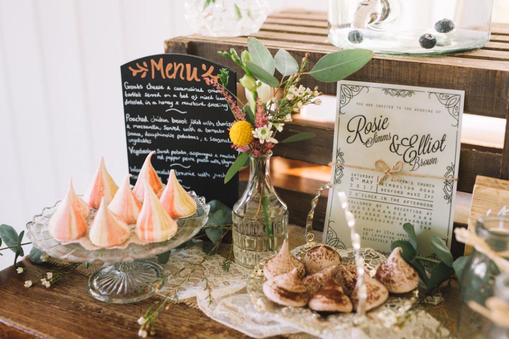How to create a relaxed, rustic back garden wedding food ideas