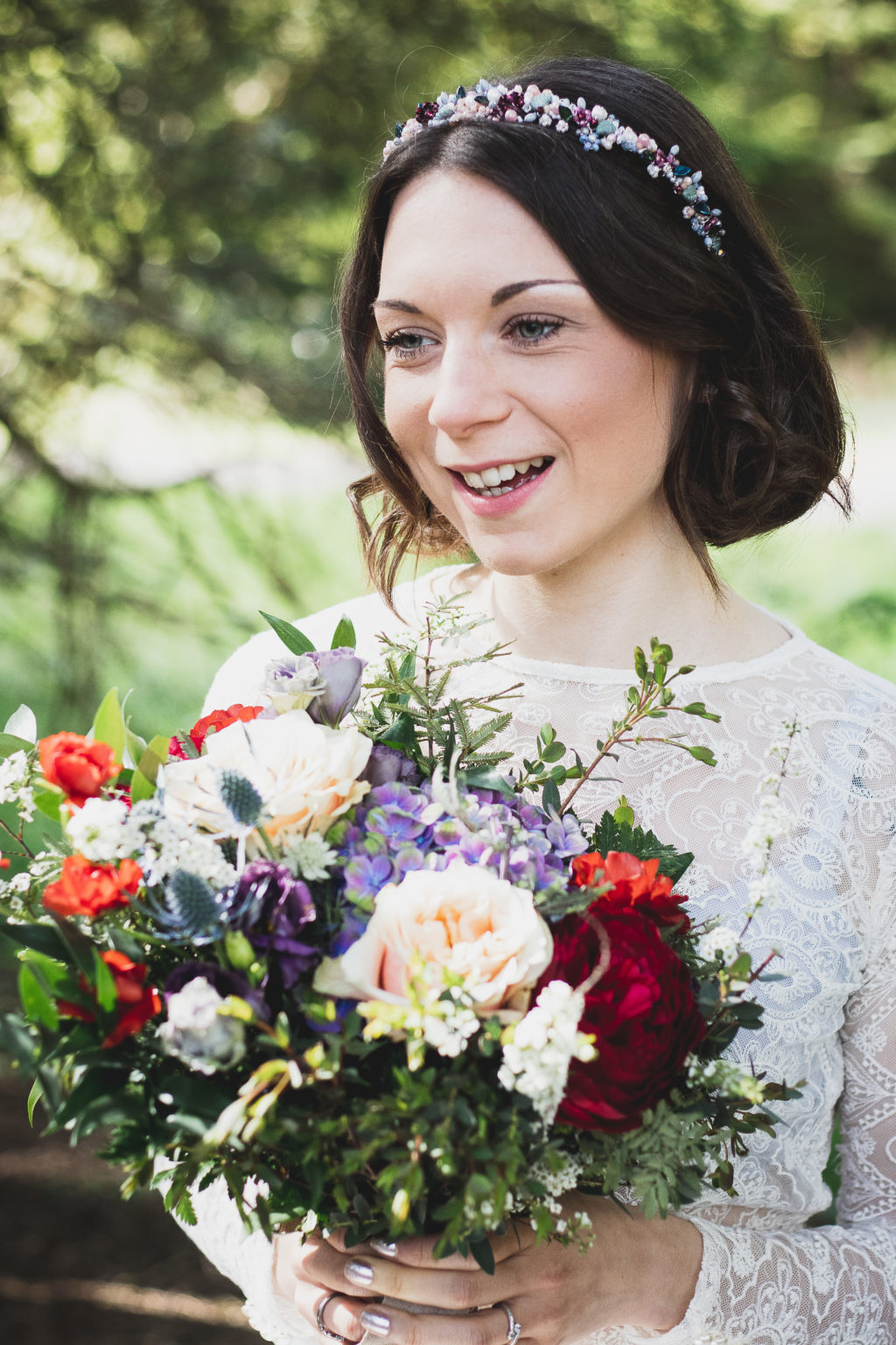 Whimsical Woodland Wedding With Ethical Styling and Accessories