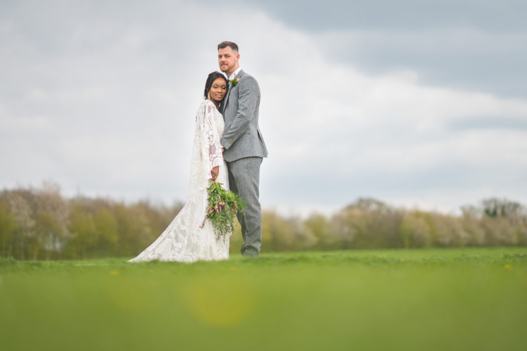 Countryside Wedding At Applewood Hall With Green and Gold Styling