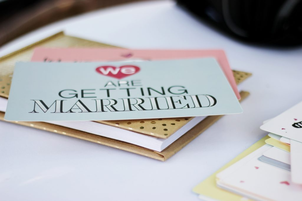 Finding a truly accessible wedding venue for a disabled guest or couple - wedding stationery