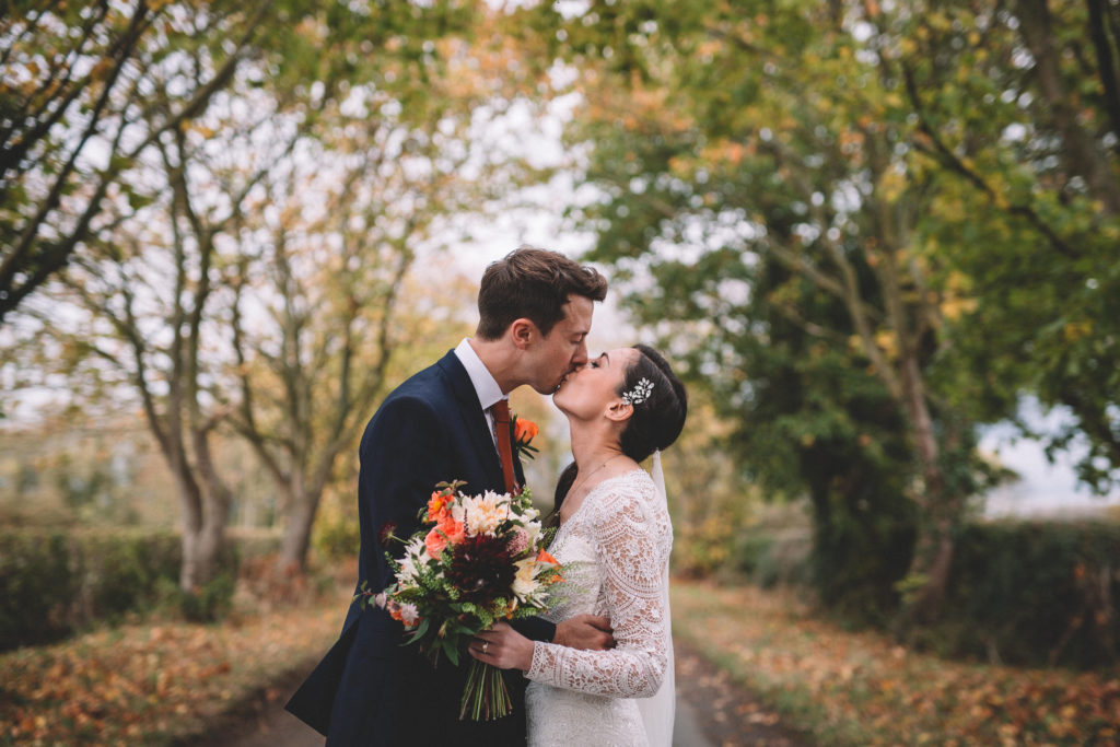 Romantic Barn Wedding in Yorkshire With Rustic Boho Styling
