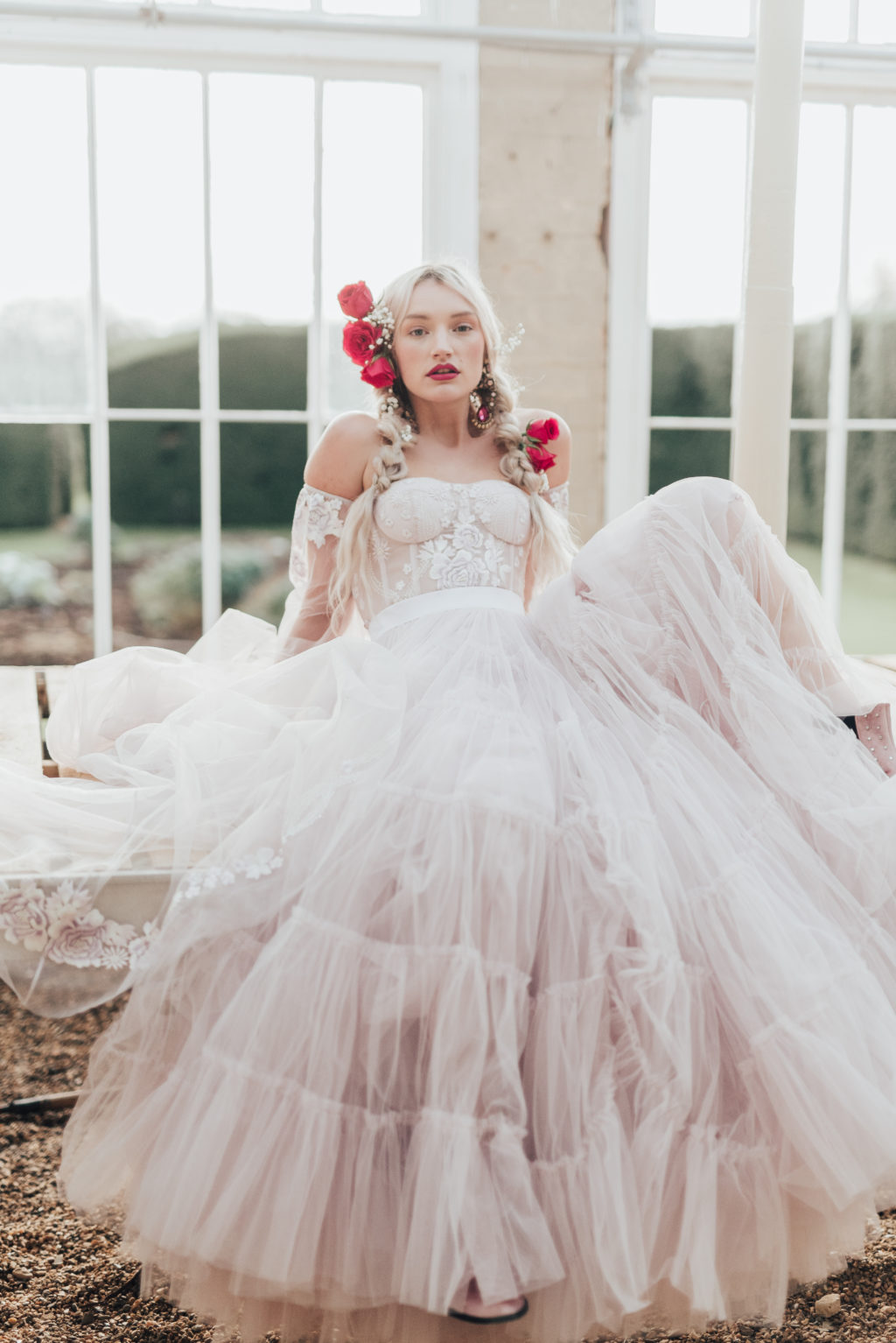 Ethical Bridalwear by Bowen Dryden: The 'Rebel Rose' Collection