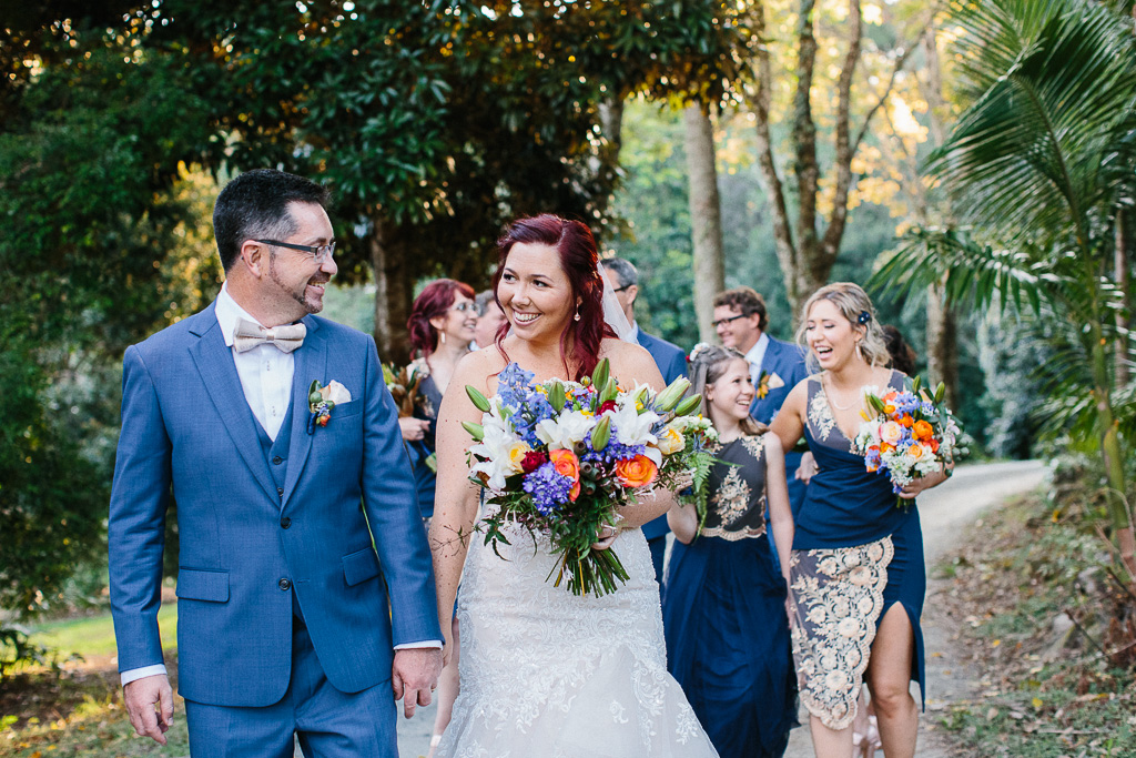 Fun Festival Wedding with Bright Florals and Rustic Vibes