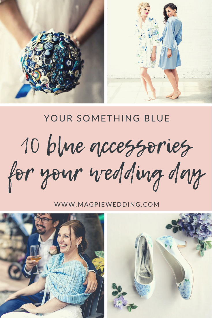 From stationery to handpainted jackets - 10 ideas for your blue wedding