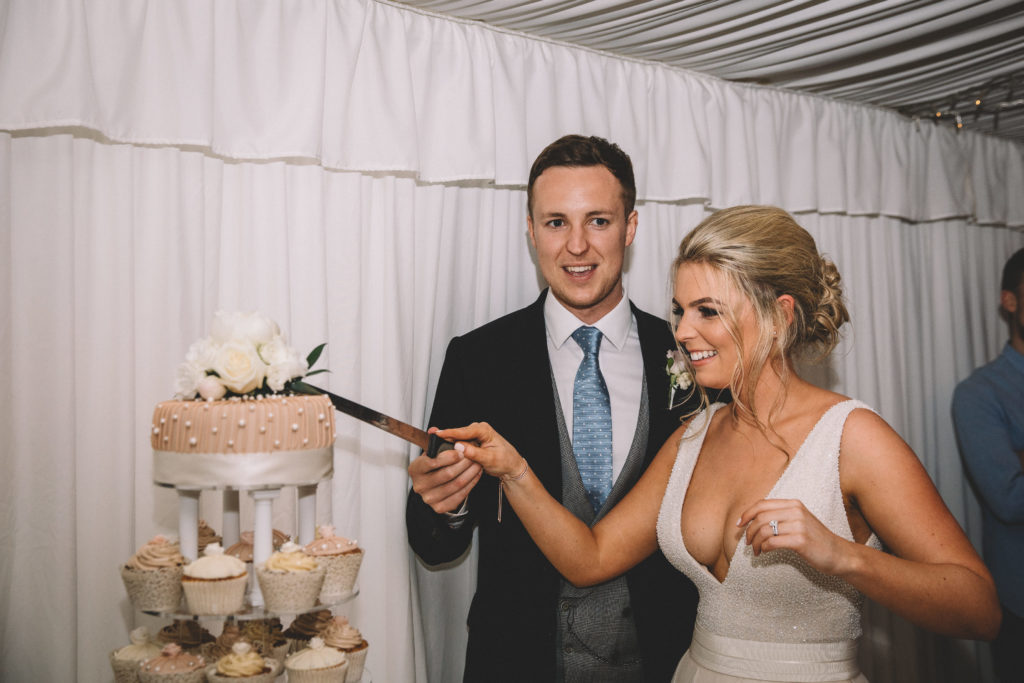 Relaxed Summer Wedding With DIY Touches at The Priory, North Yorkshire