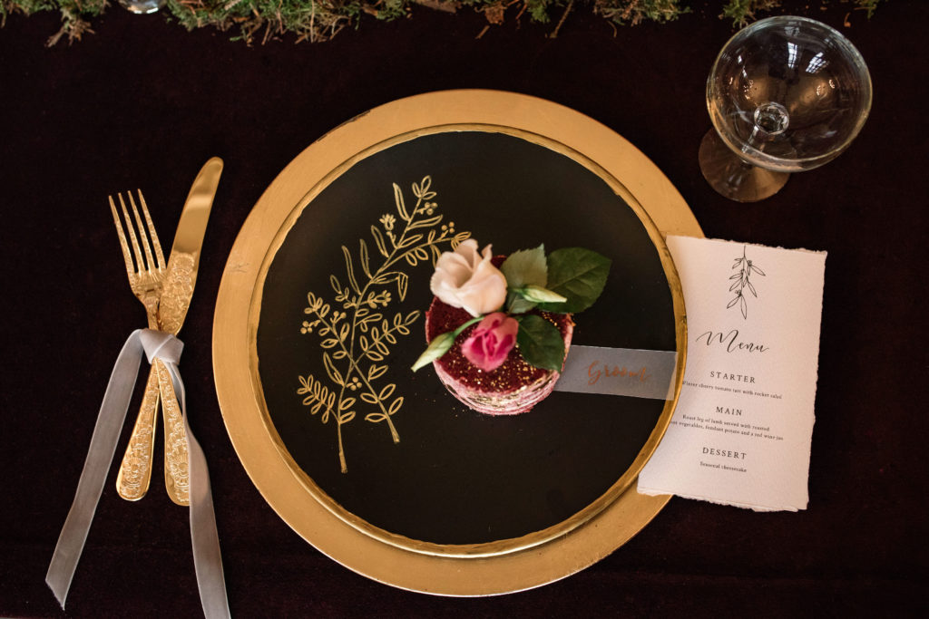 Ideas for styling your Christmas wedding
