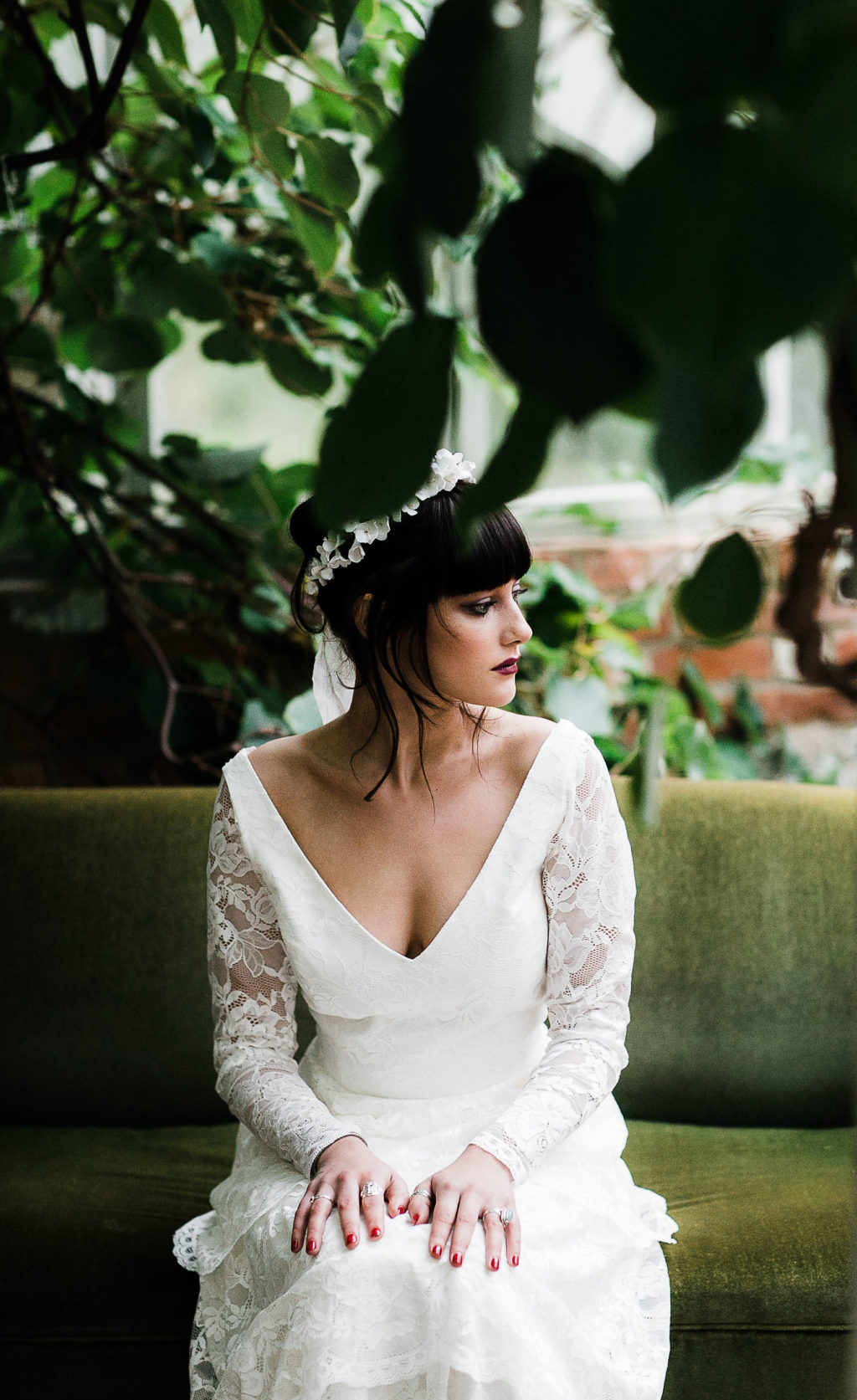 Dark, Dreamy and Romantic Wedding Inspiration at Secret Garden, Kent