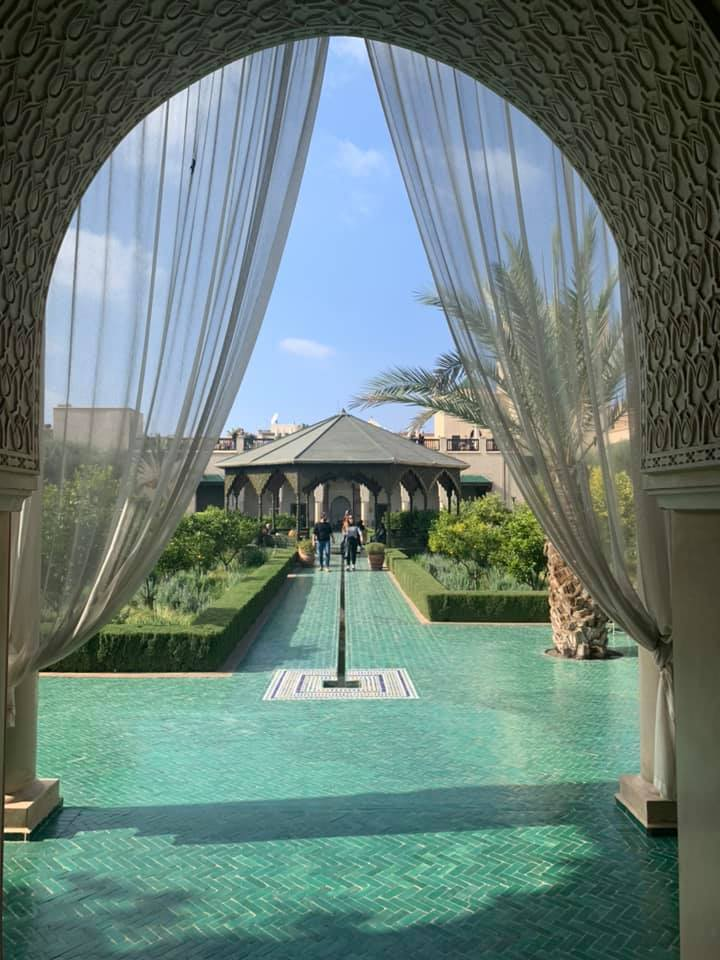 Marrakesh Honeymoons- the perfect mini moon or pamper weekend destination at Riad Spice - Secret Garden
