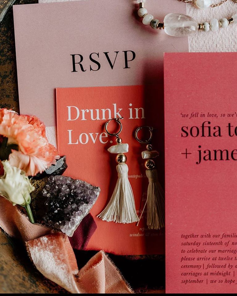 Minimalist Modern Wedding Stationery