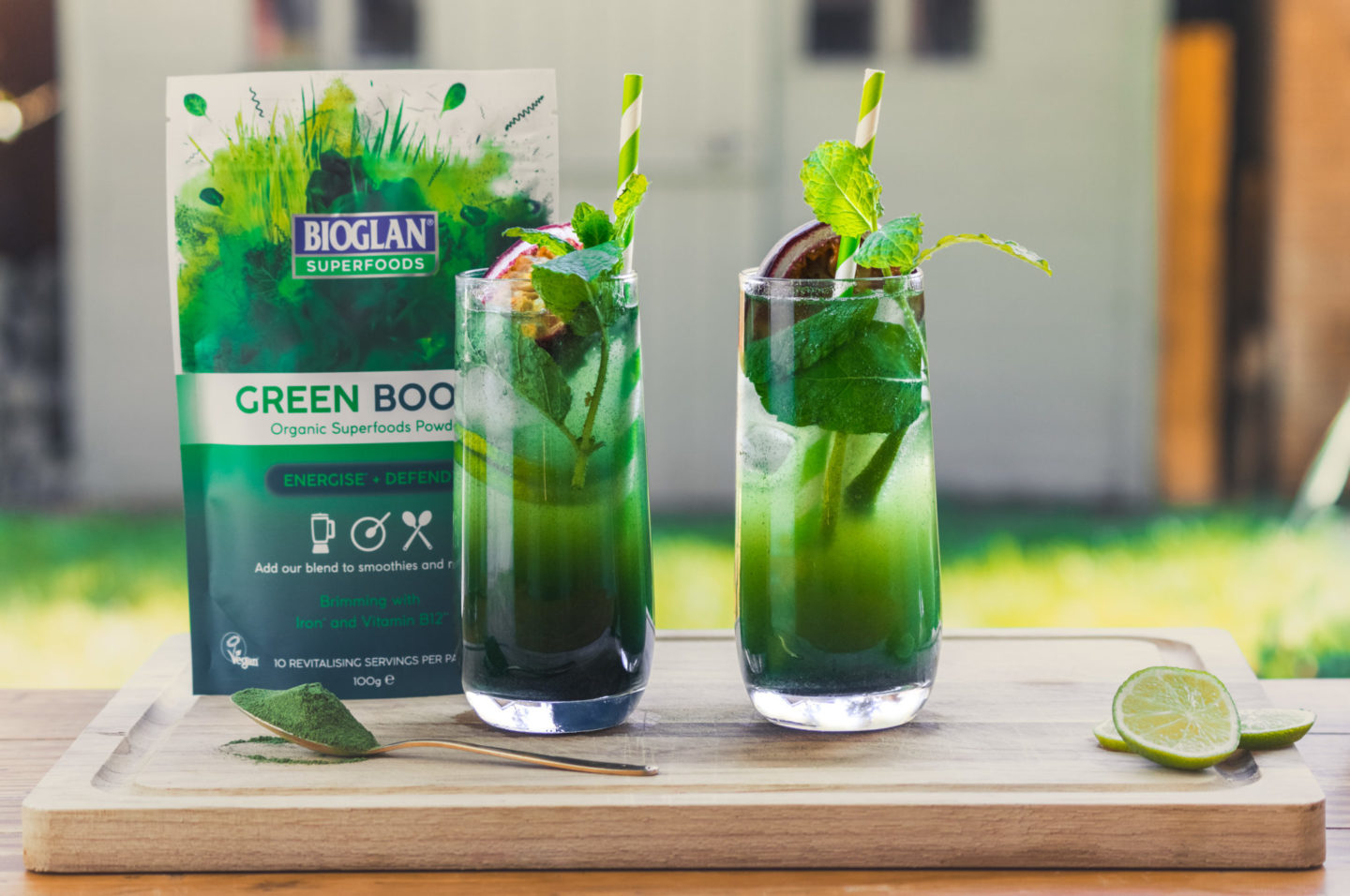 Super Mojito with Green Boost Mocktail