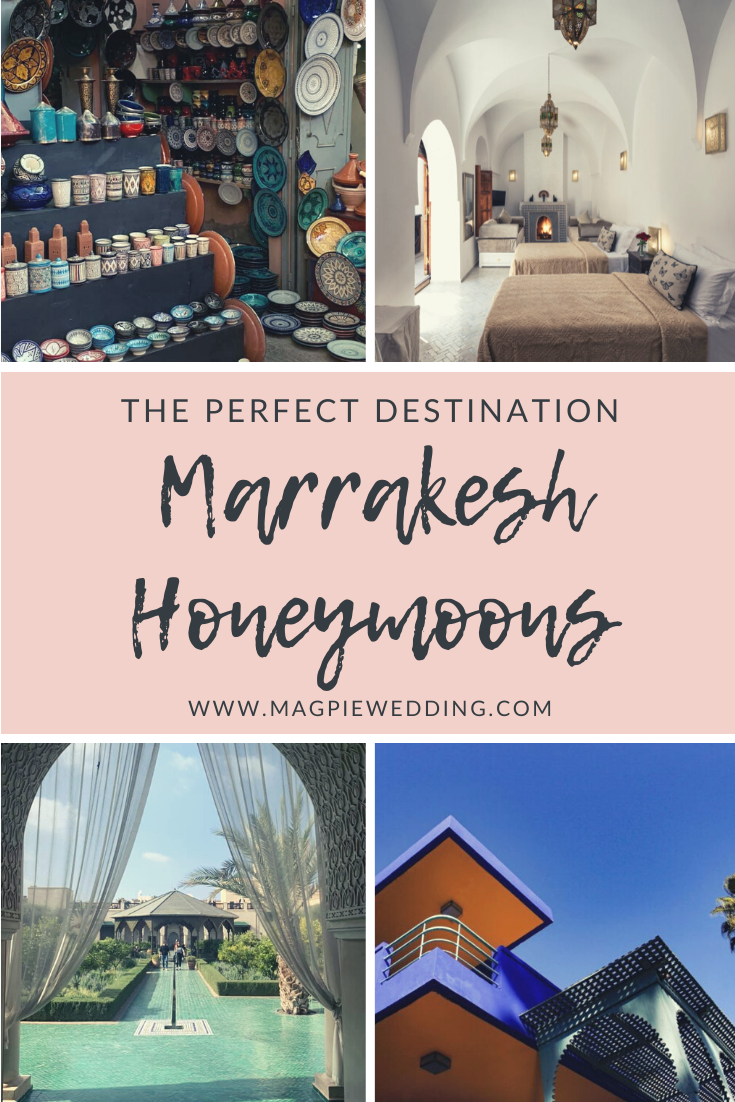 Marrakesh Honeymoons- the perfect mini-moon or pamper weekend destination at Riad Spice