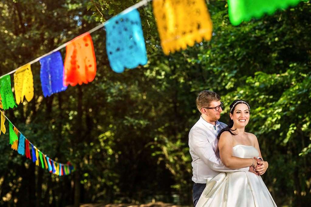 Fiesta Vibe Tipi Wedding at Five Oaks, West Sussex