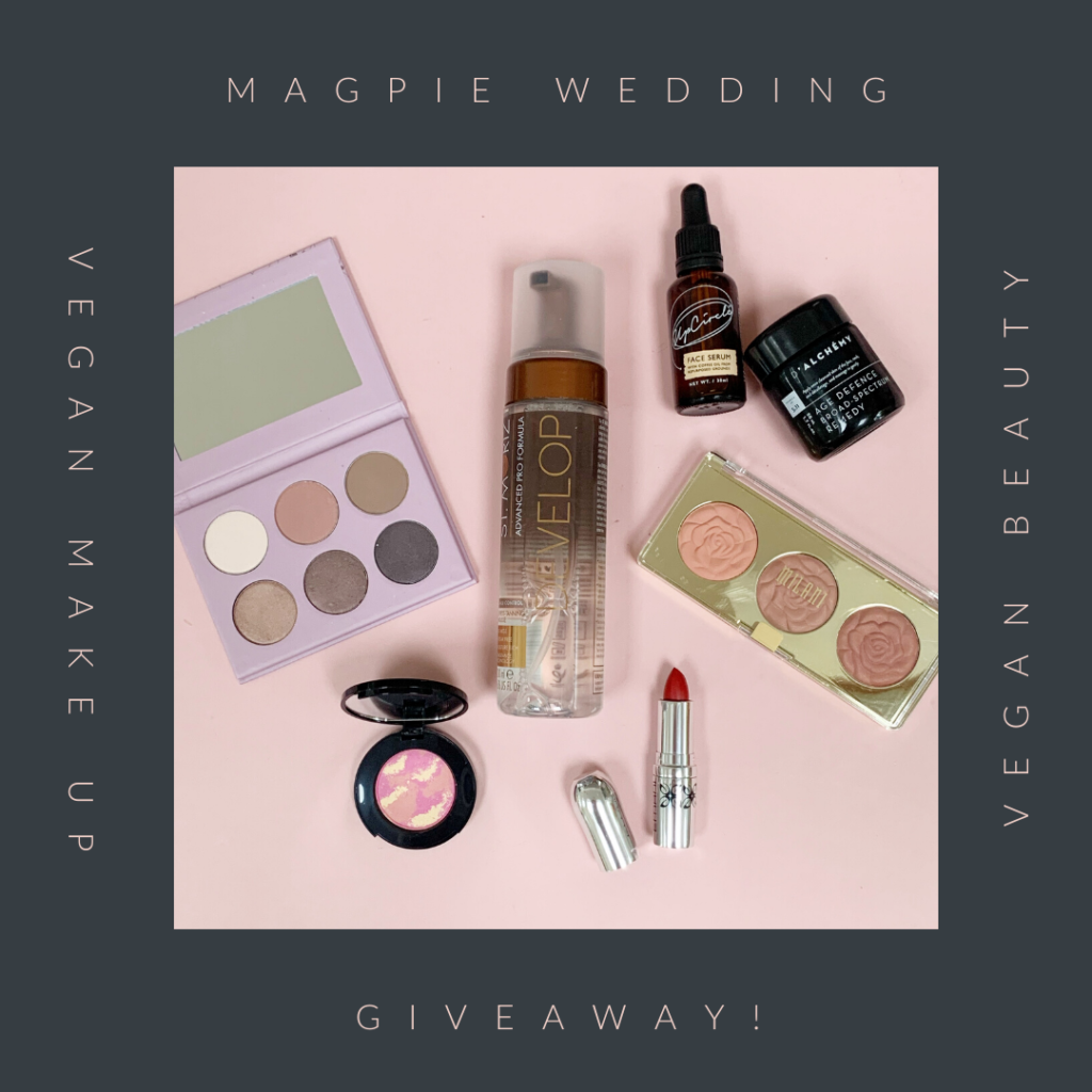 Vegan Makeup and Beauty Giveaway with Magpie Wedding