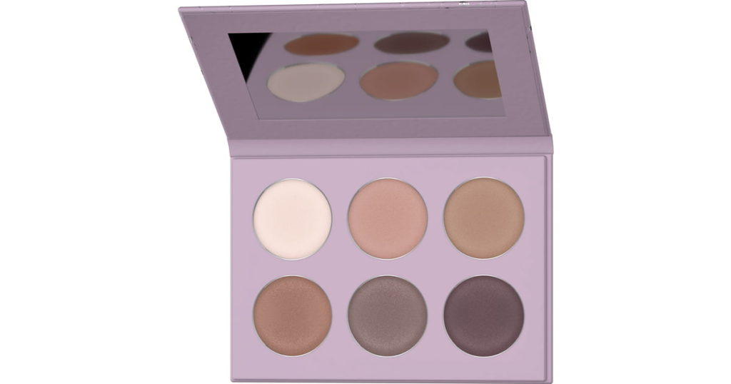 Mineral Eyeshadow Palette In Blooming Nude by Lavera