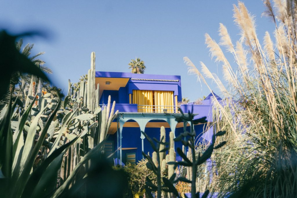 Marrakesh Honeymoons- the perfect mini moon or pamper weekend destination at Riad Spice - Marjorelle Gardens