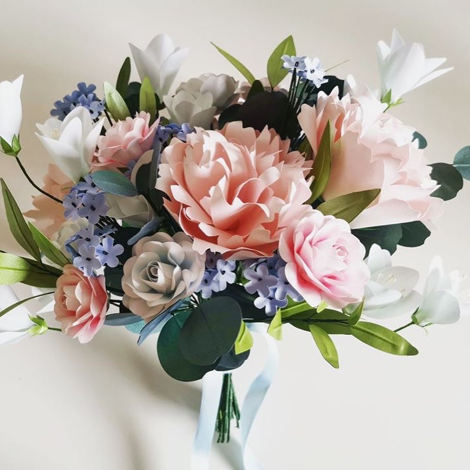 Paper Seed Floristry Bouquets coming to the Manchester Wedding Fair