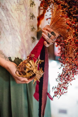 Copper Dragon, Game of Thrones inspired alternative bouquet by CRZyBest