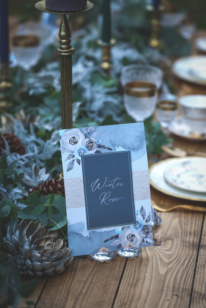 Outdoor Ethical Tea Party Wedding With Classic Blue Hue Styling
