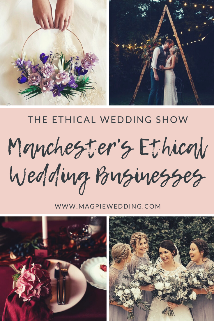 Introducing Our Ethical & Sustainable Wedding Suppliers at our Manchester Wedding Fair