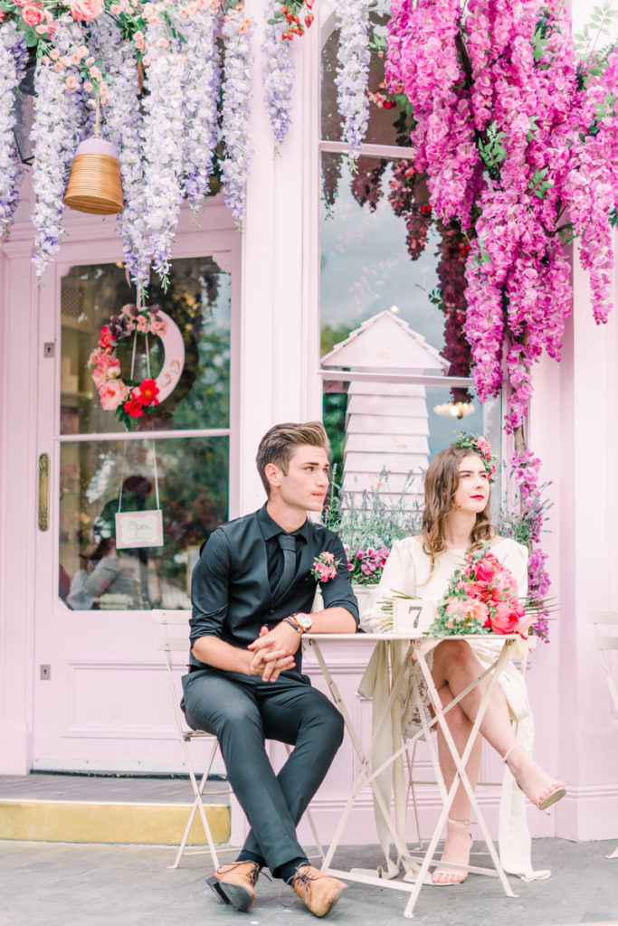 Barbie Pink Retro Wedding Inspiration at Peggy Porschen London