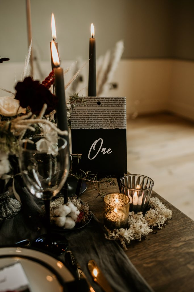 Bride of Frankenstein Alternative Sustainable Wedding Inspiration