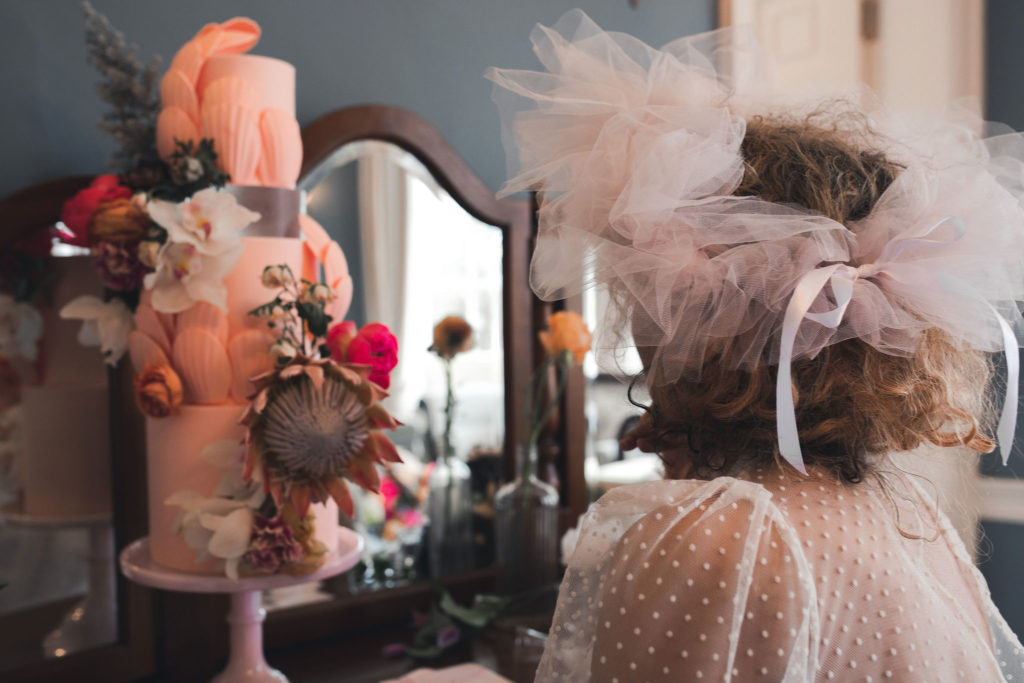 Modern Vintage Wedding Inspiration at Deer Park, Devon