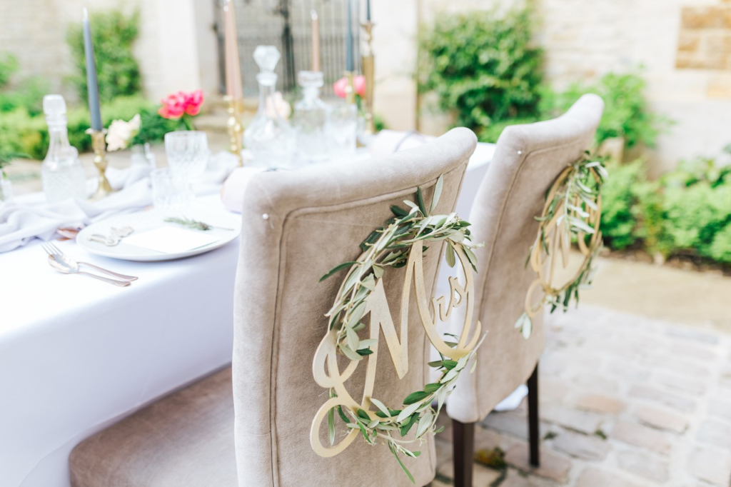 Styling Ideas For Your Wedding Chairs