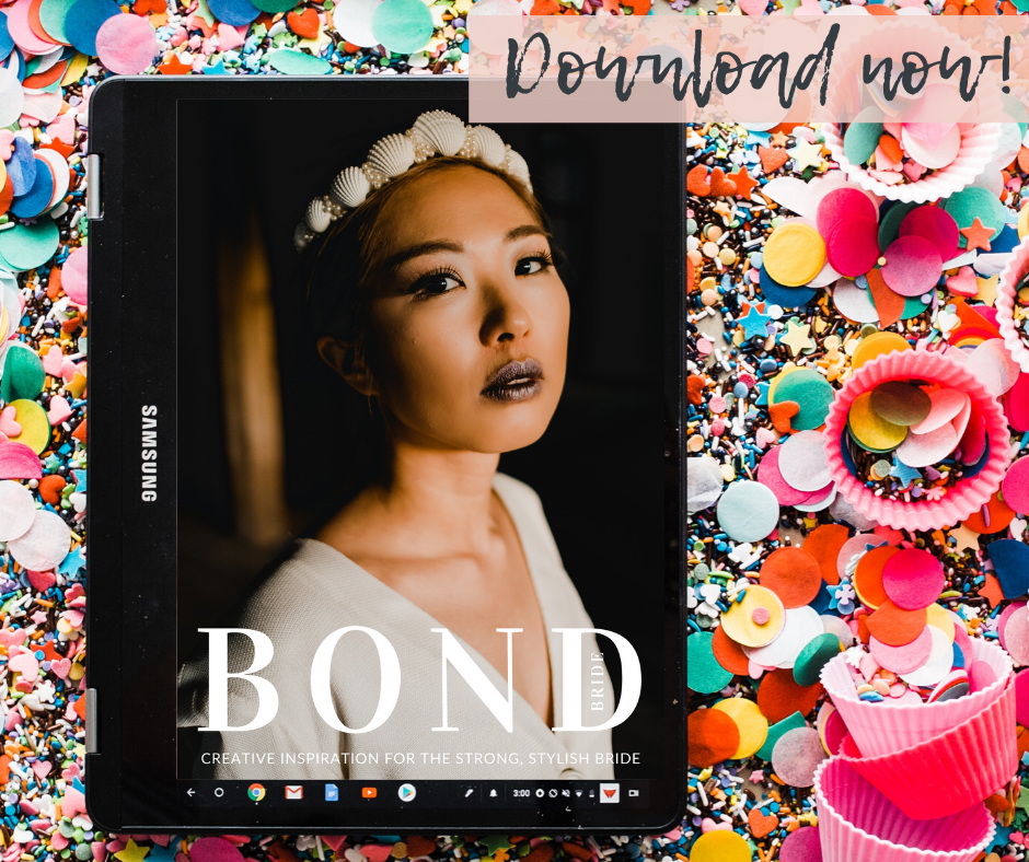 BOND BRIDE MAGAZINE