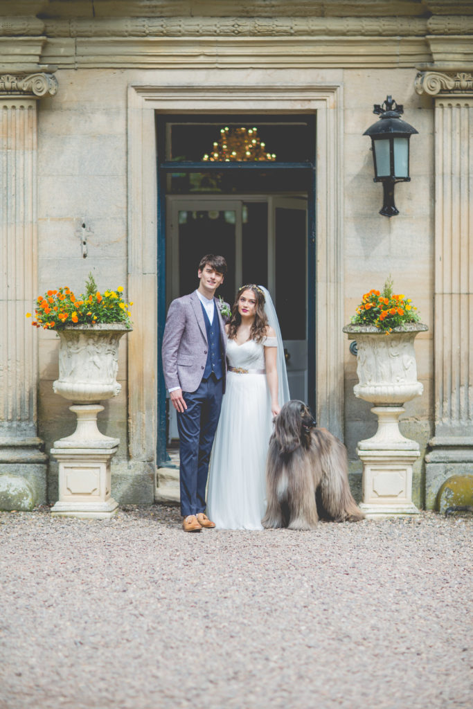 Country House Luxe Wedding Inspiration at Eshott Hall, Northumberland