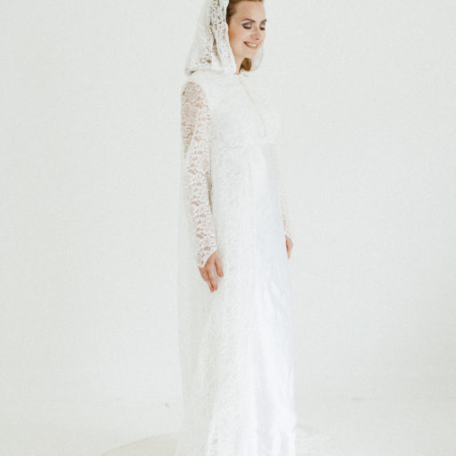 Vintage Wedding Dress by Magpie Wedding