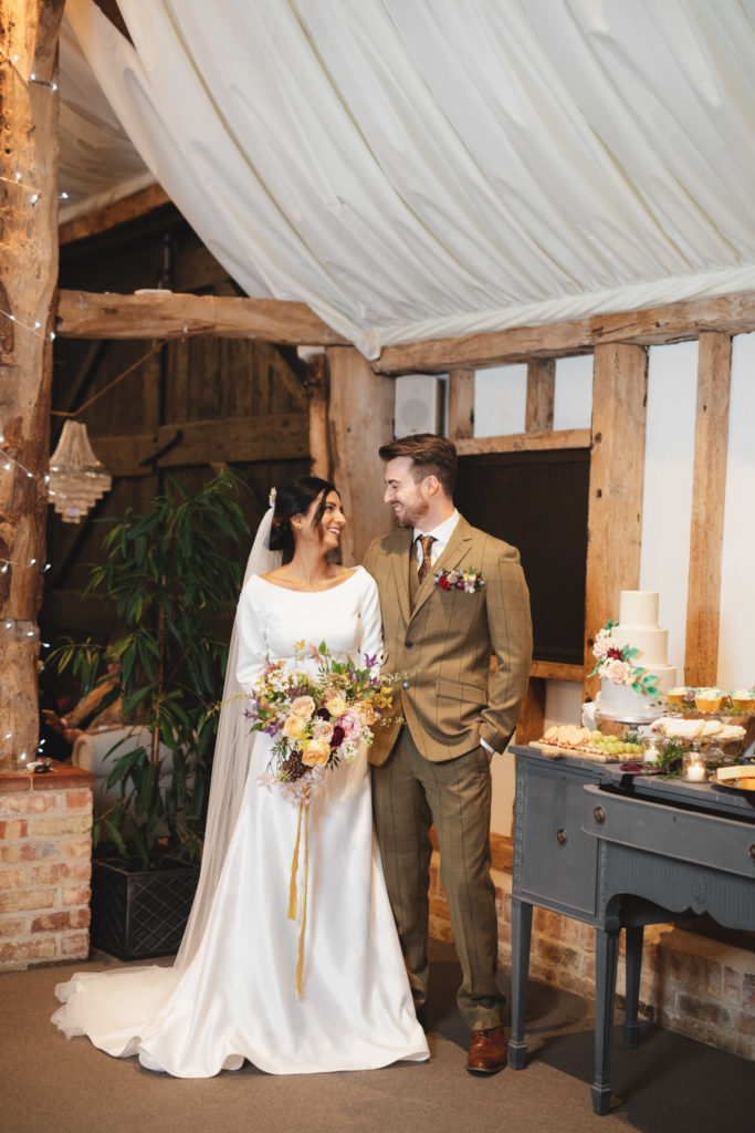 Rustic Barn Wedding Inspiration at South Farm Hertfordshire