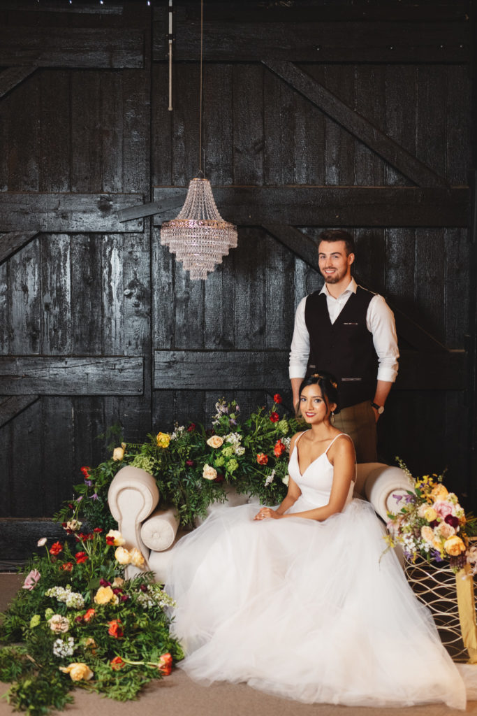 Luxe Barn Wedding Inspiration at South Farm Hertfordshire