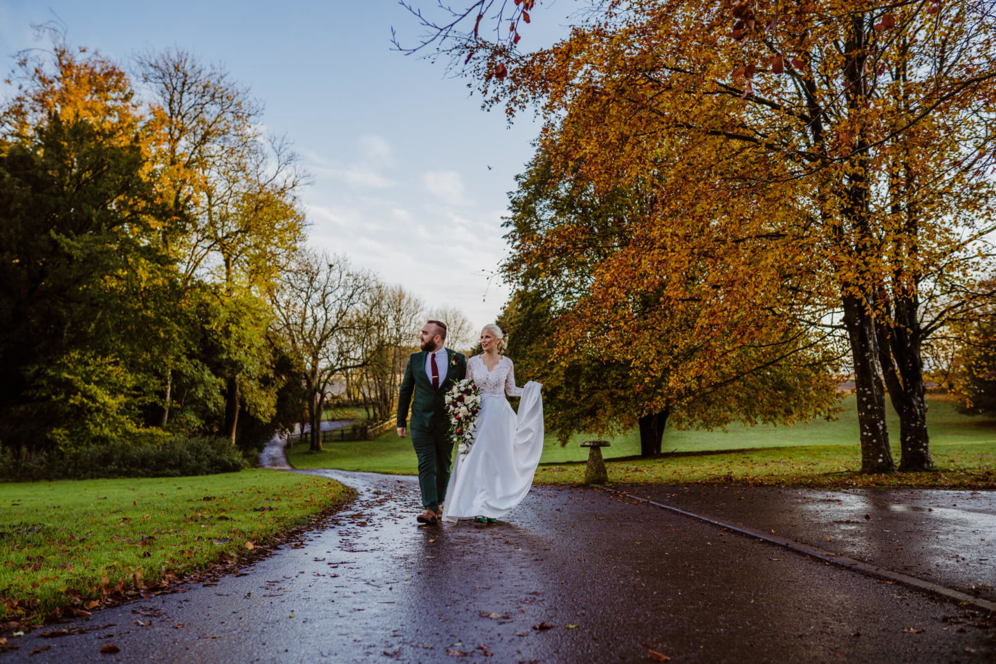 Intimate Modern Vintage Marquee Wedding In Allington, Wiltshire