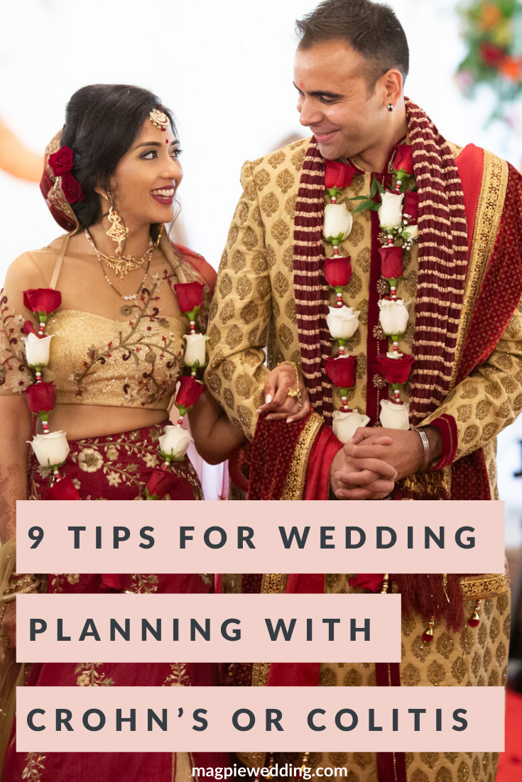 World IBD Day - 9 tips For Wedding Planning with Crohn's or Colitis