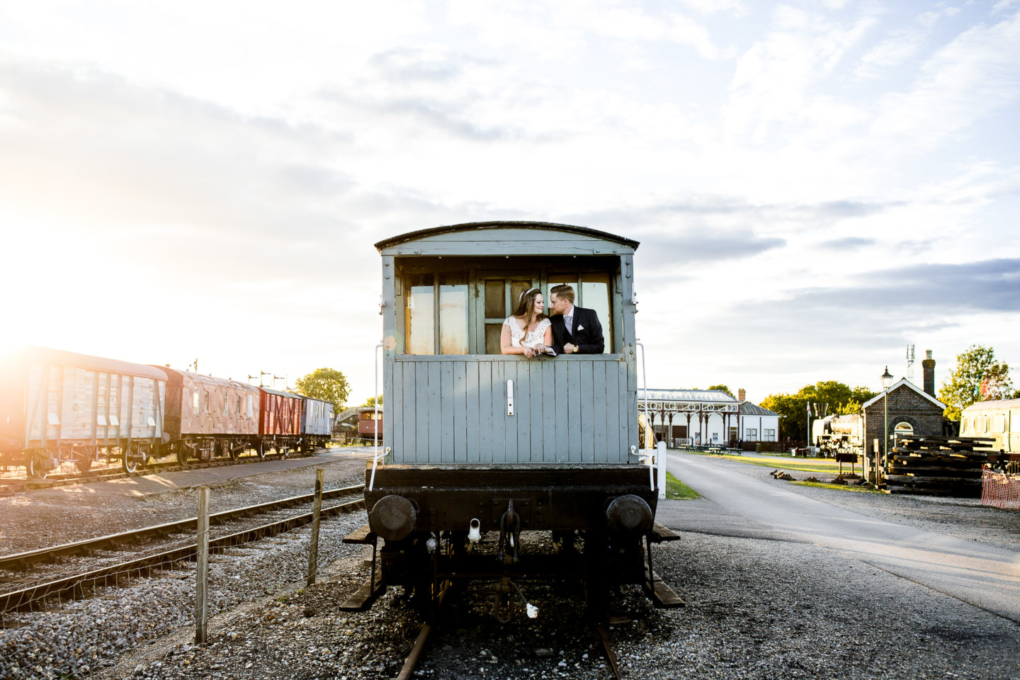 Vintage Disney Inspired Wedding at Buckinghamshire Railway Centre