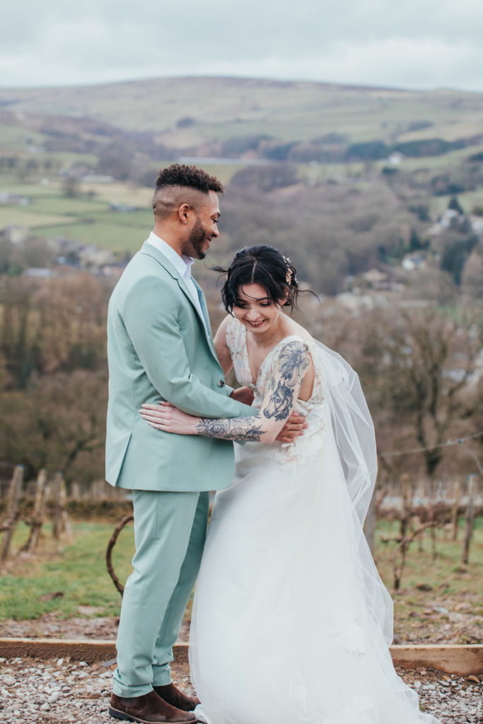 Luxury Vineyard Wedding At Holmfirth Vineyard, Yorkshire
