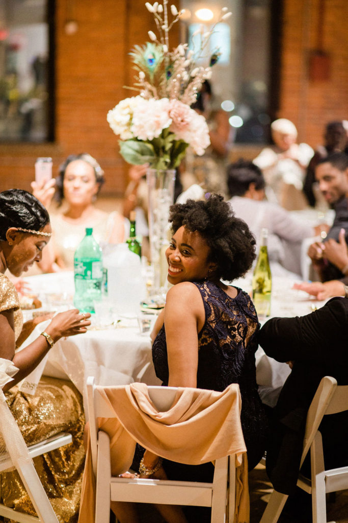Gatsby Inspired Wedding At Dumbo Loft, New York City
