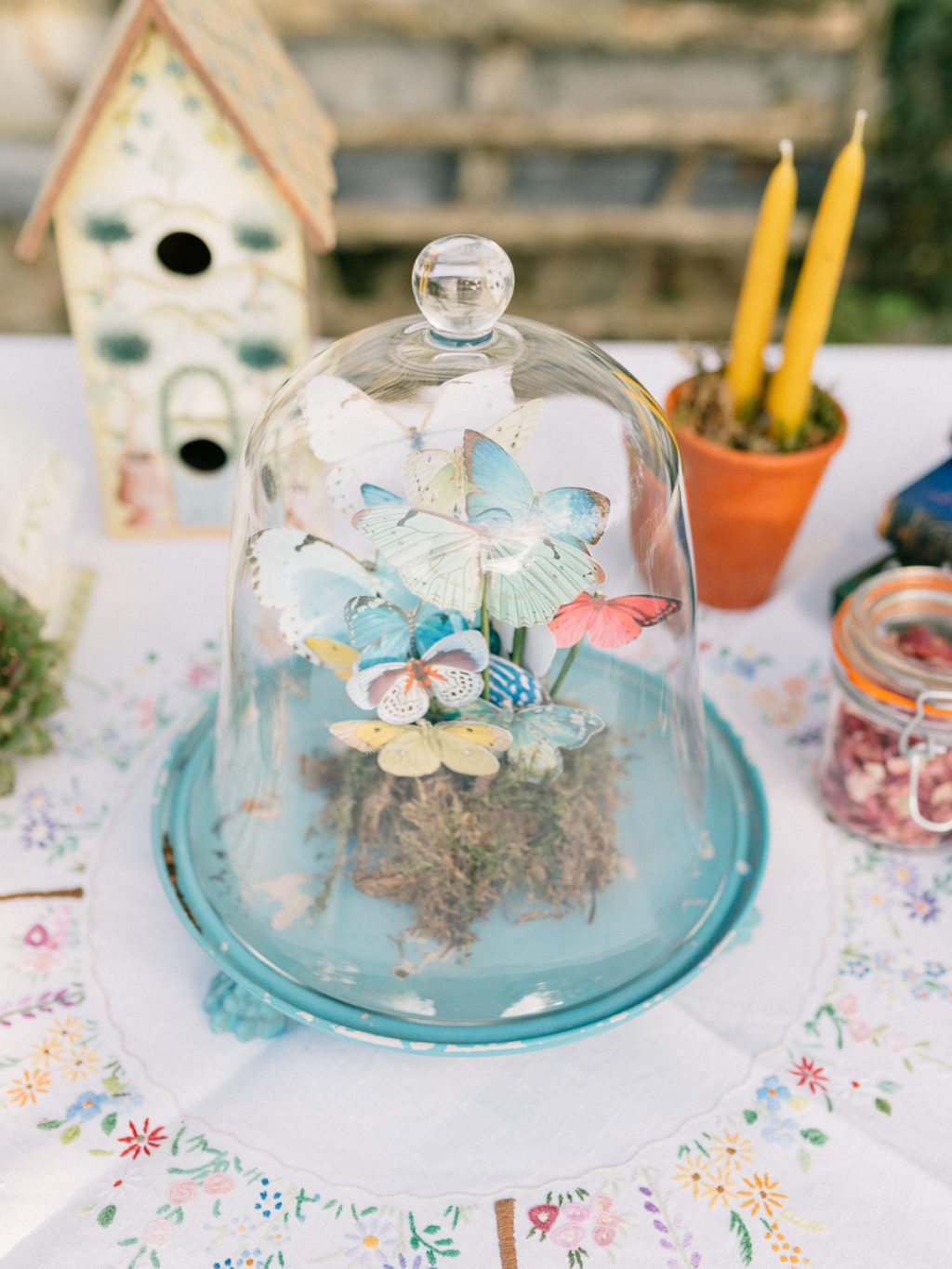 Sustainable Wedding With Spring Garden Styling At Kate's Garden Shropshire