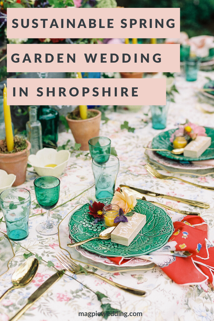 Sustainable Wedding Ideas With Spring Garden Styling At Kate's Garden Shropshire