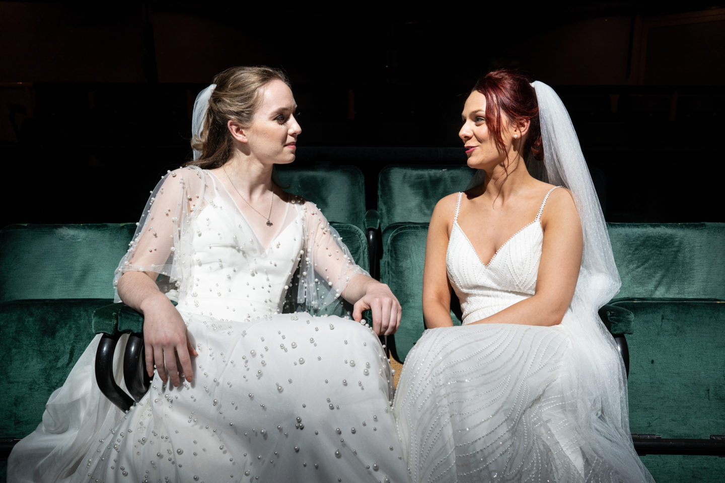 Same Sex City Wedding At The Royal Exchange Theatre, Manchester
