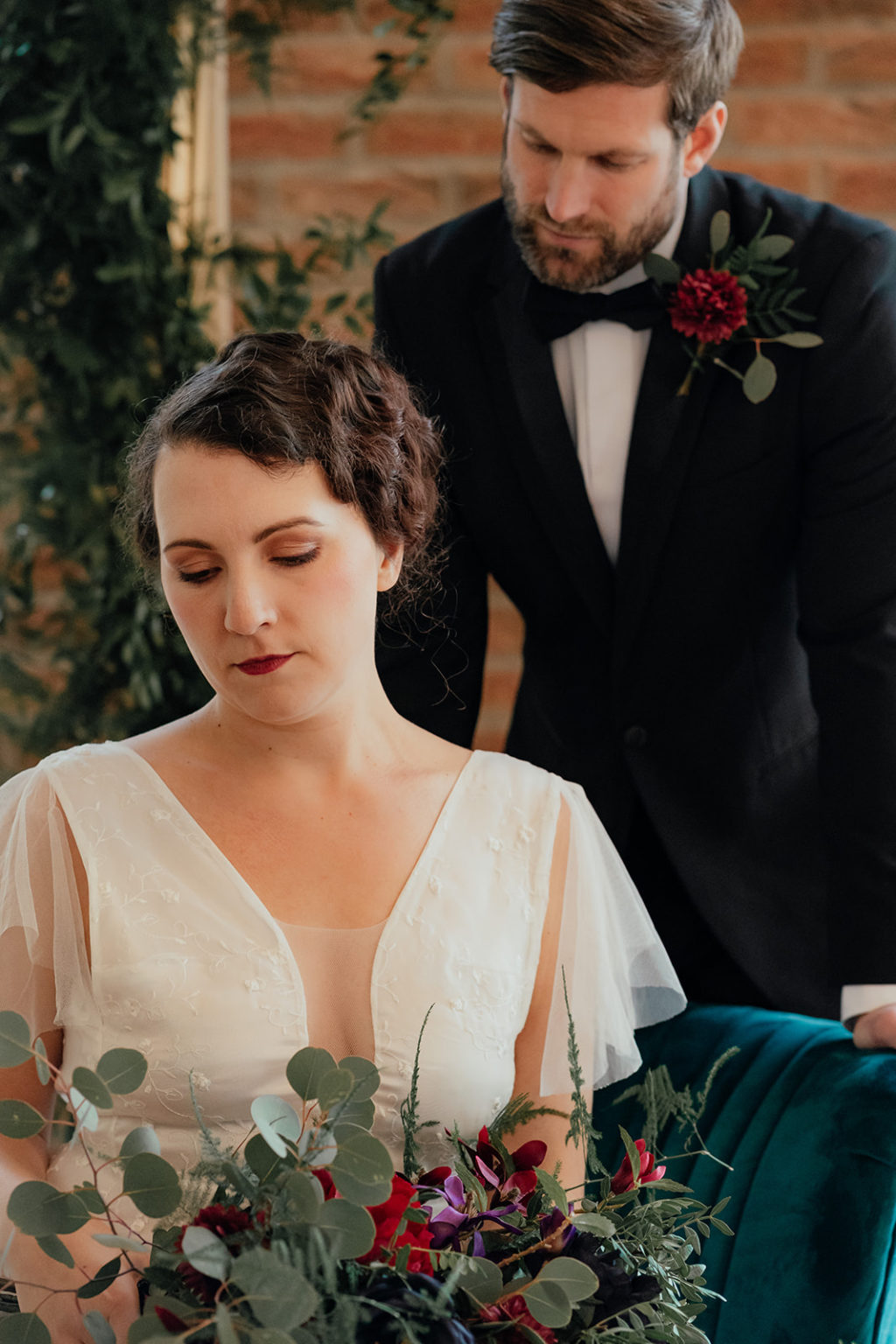 Art Deco Wedding Inspiration At The Manor Rooms, Drewton