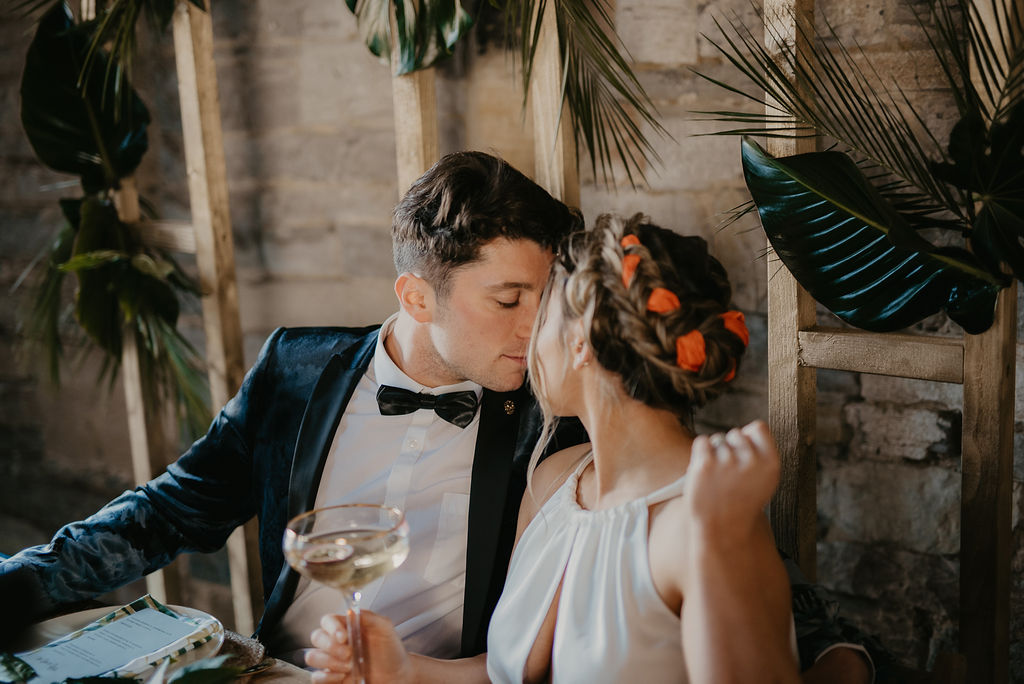 Tropical Luxe Wedding Inspiration